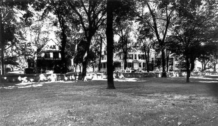 Fraternity Row c. 1963