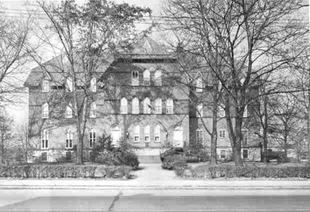 Metzger Hall c.1945