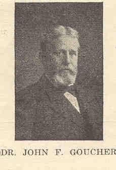 Dr. John F. Goucher