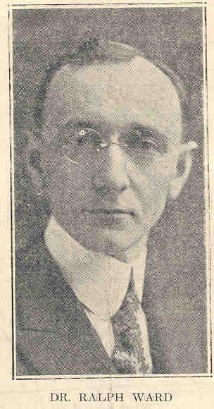 Dr. Ralph Ward